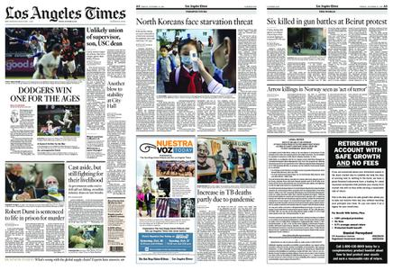 Los Angeles Times – October 15, 2021