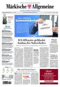 Märkische Allgemeine Luckenwalder Rundschau - 28. September 2018