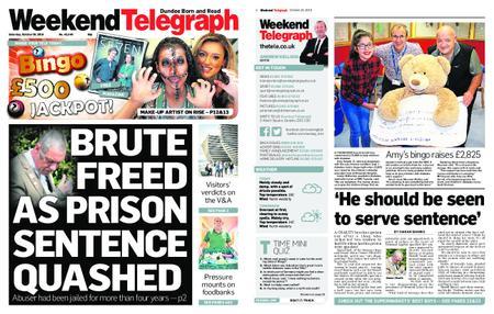 Evening Telegraph First Edition – October 20, 2018