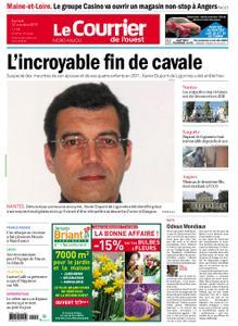 Le Courrier de l'Ouest Nord Anjou – 12 octobre 2019