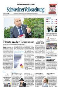 Schweriner Volkszeitung Hagenower Kreisblatt - 22. Juni 2018