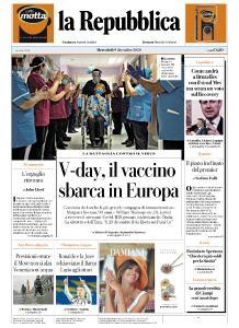 la Repubblica - 9 Dicembre 2020
