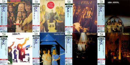 ABBA: Japanese SHM-CD Collection (1973-1981) Re-up