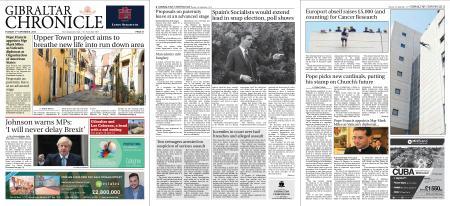 Gibraltar Chronicle – 03 September 2019