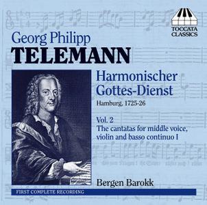 Bergen Barokk - Telemann: Harmonischer Gottes-Dienst, Vol. 2 (2009)