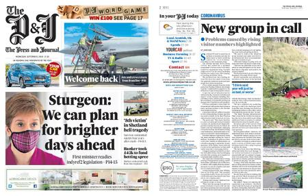 The Press and Journal Moray – September 02, 2020
