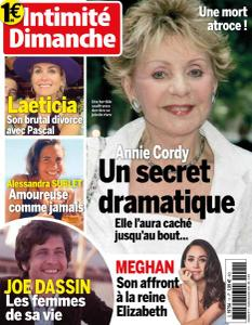 Intimité Dimanche - Octobre-Novembre 2020