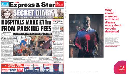 Express and Star City Edition – October 22, 2018