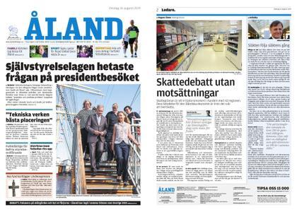 Ålandstidningen – 14 augusti 2019