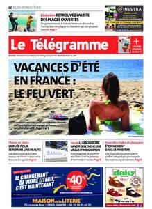 Le Télégramme Quimper – 15 mai 2020