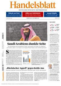 Handelsblatt - 23. Oktober 2018