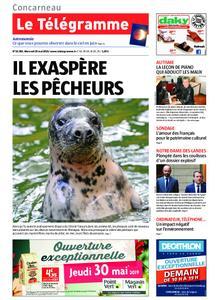 Le Télégramme Concarneau – 29 mai 2019
