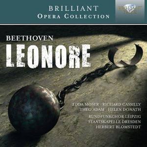 Rundfunkchor Leipzig, Staatskapelle Dresden, Herbert Blomstedt - Beethoven: Leonore, Op.72 (1977) 2 CDs, Reissue 2014 [Re-Up]