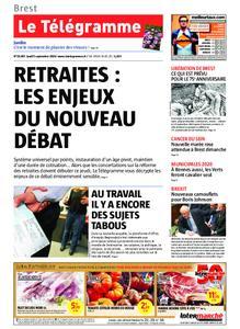 Le Télégramme Brest – 05 septembre 2019