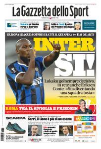 La Gazzetta dello Sport – 06 agosto 2020