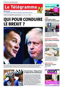 Le Télégramme Concarneau – 22 juillet 2019