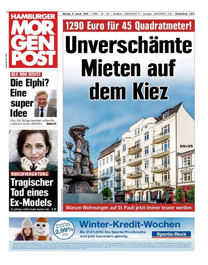 Hamburger Morgenpost - 08. Januar 2018