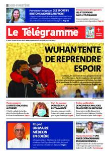 Le Télégramme Ouest Cornouaille – 05 avril 2020