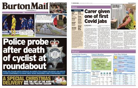 Burton Mail – December 16, 2020
