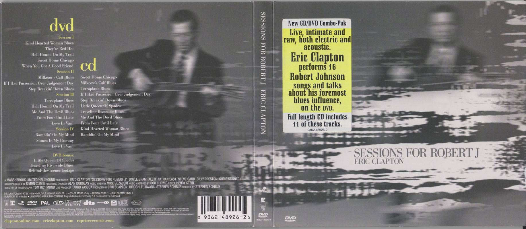 Eric Clapton - Sessions For Robert J (2004)