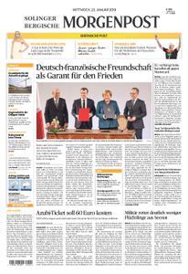 Solinger Morgenpost – 23. Januar 2019