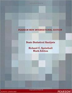 Basic Statistical Analysis: Pearson New International Edition [Repost]
