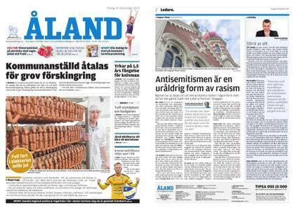 Ålandstidningen – 19 december 2017