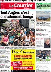 Le Courrier de l'Ouest Nord Anjou – 03 juin 2019