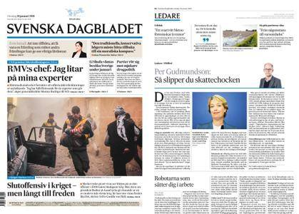 Svenska Dagbladet – 10 januari 2018