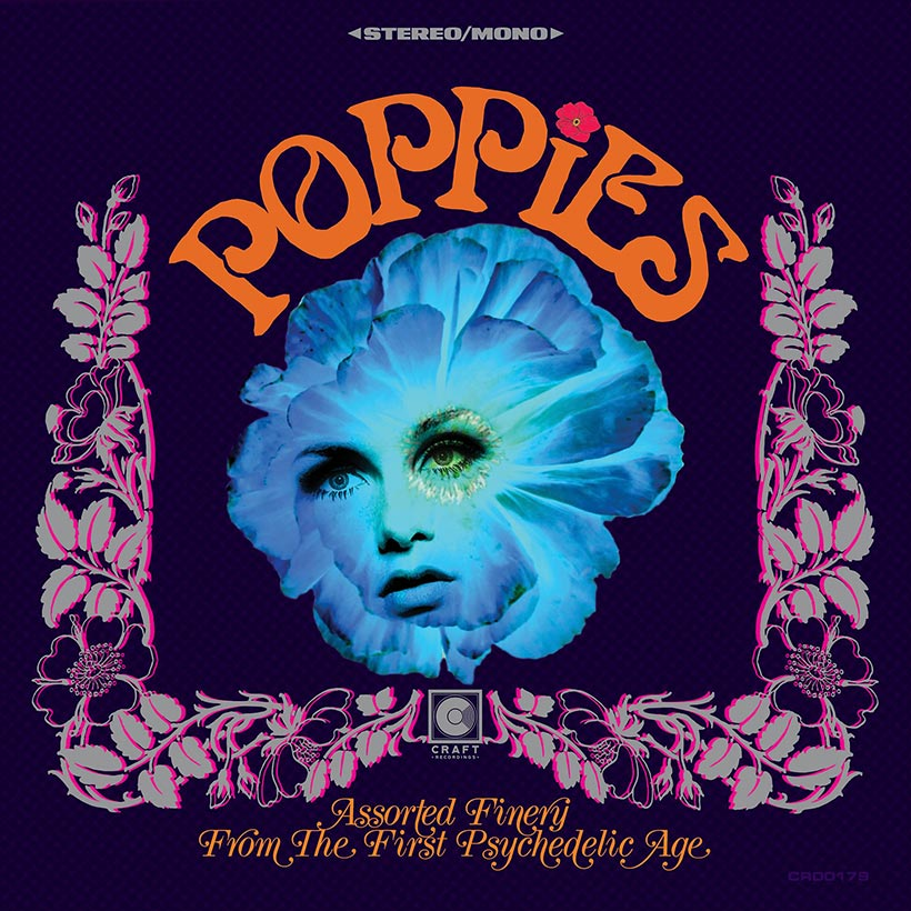VA - Poppies: Assorted Finery From The First Psychedelic Age (2019)
