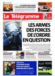 Le Télégramme Quimper – 29 janvier 2020