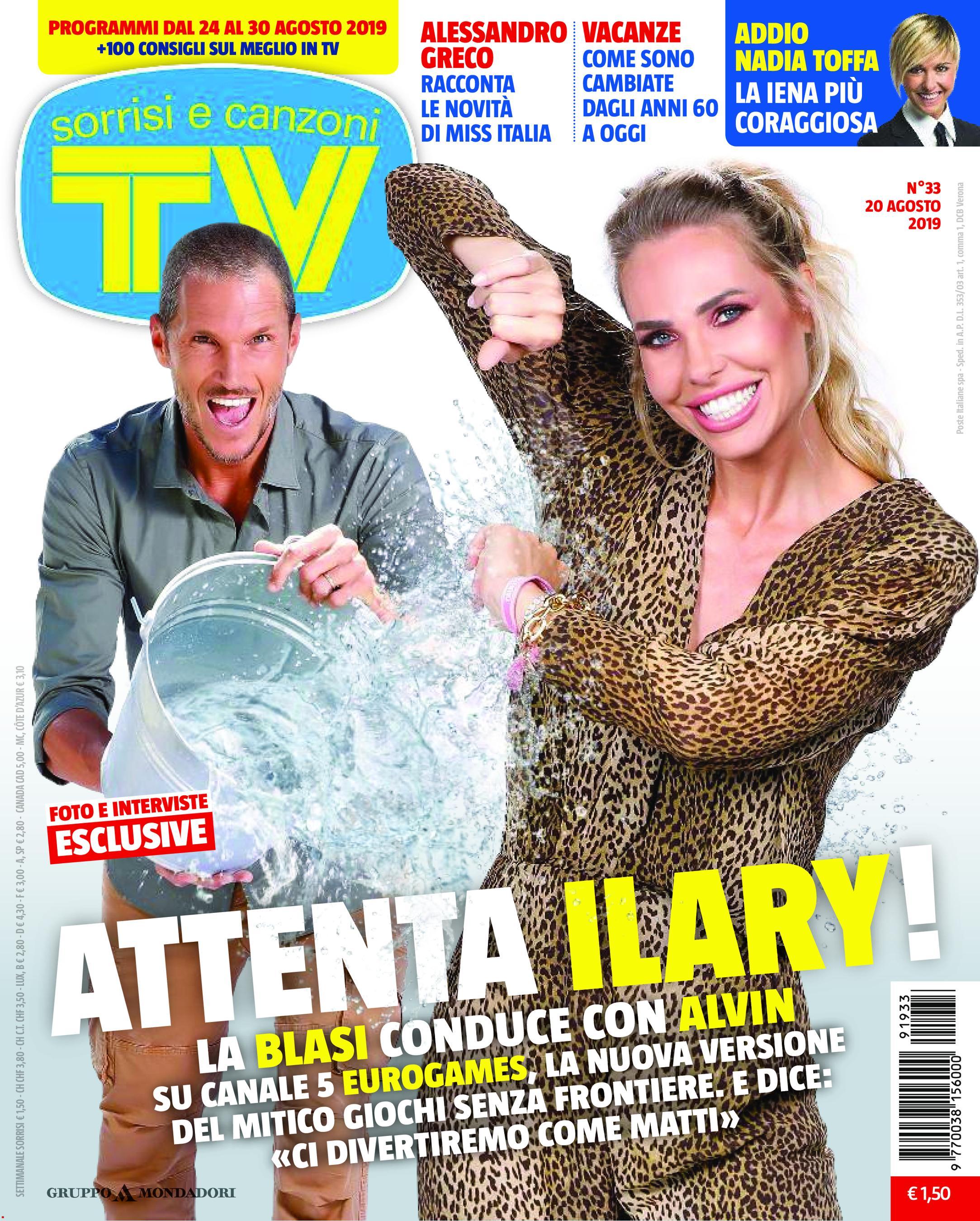 TV Sorrisi e Canzoni N.33 - 20 Agosto 2019
