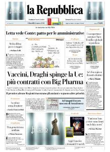 la Repubblica - 25 Marzo 2021