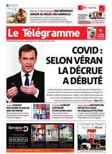Le Télégramme Brest – 20 avril 2021