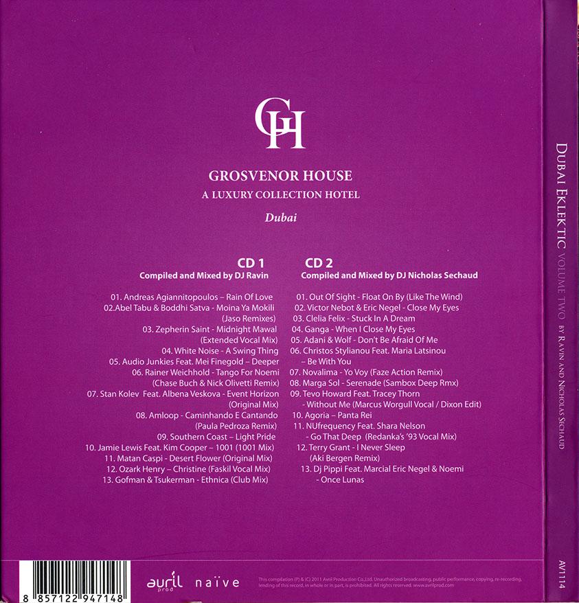 VA - Dubai Eklektic 2: Complied and Mixed by DJ Ravin and DJ Nicholas Sechaud (2011) 2CDs [Re-Up]