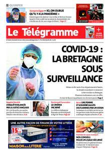 Le Télégramme Quimper – 26 mars 2021