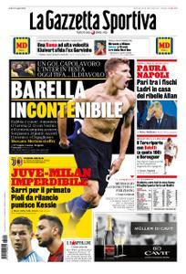 La Gazzetta dello Sport Roma – 10 novembre 2019
