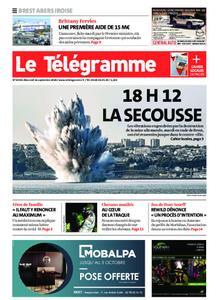Le Télégramme Brest Abers Iroise – 16 septembre 2020