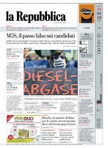la Repubblica - 30 Gennaio 2018