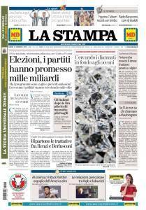 La Stampa Imperia e Sanremo - 19 Febbraio 2018