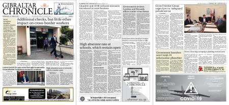 Gibraltar Chronicle – 18 March 2020
