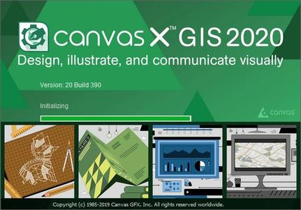 Canvas X GIS 2020 v20.0 Build 390