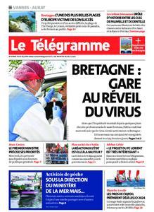 Le Télégramme Auray – 16 juillet 2020
