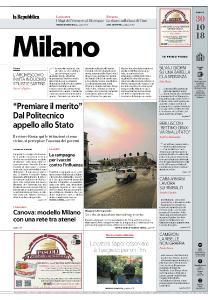 la Repubblica Milano - 30 Ottobre 2018