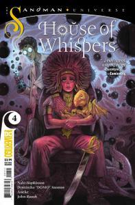 House of Whispers #4 Sumergirme en la Corriente de Curación (2019)