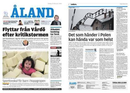 Ålandstidningen – 20 februari 2018