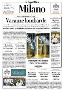 la Repubblica Milano - 23 Maggio 2020