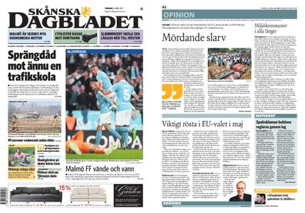 Skånska Dagbladet – 25 april 2019