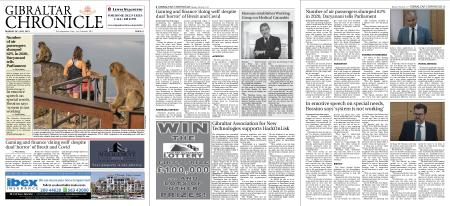 Gibraltar Chronicle – 26 July 2021
