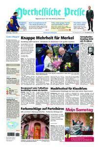 Oberhessische Presse Marburg/Ostkreis - 15. März 2018